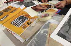 Fifth Collage Jam Session at Macba Barcelona