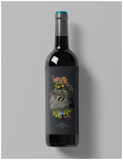 Mas de la Basserola / Wine label