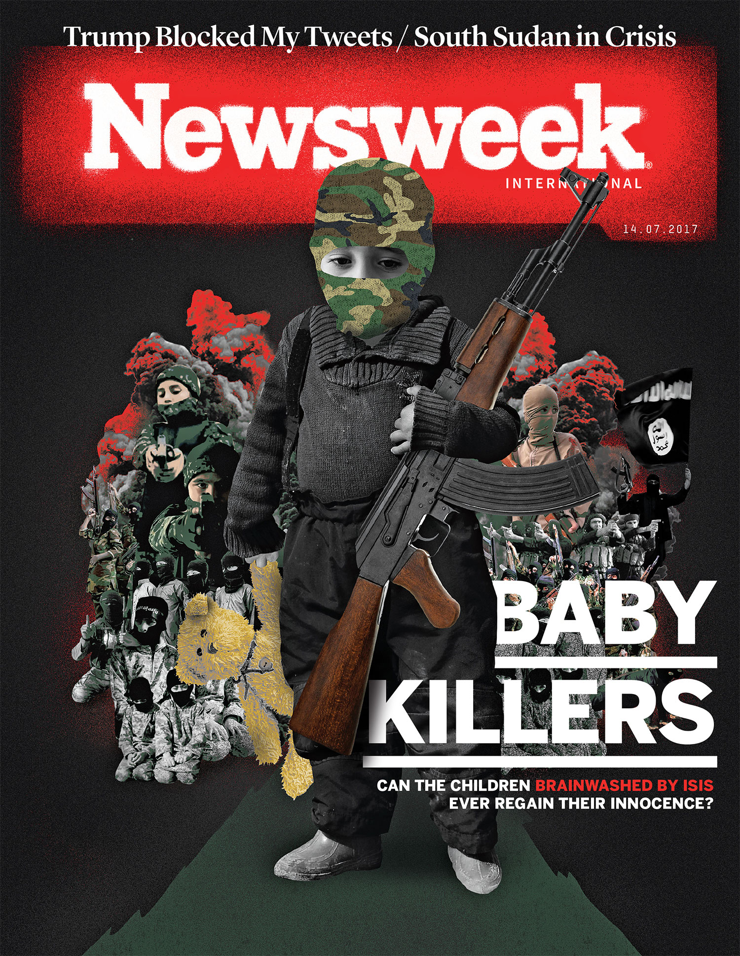Newsweek / Isis children cover