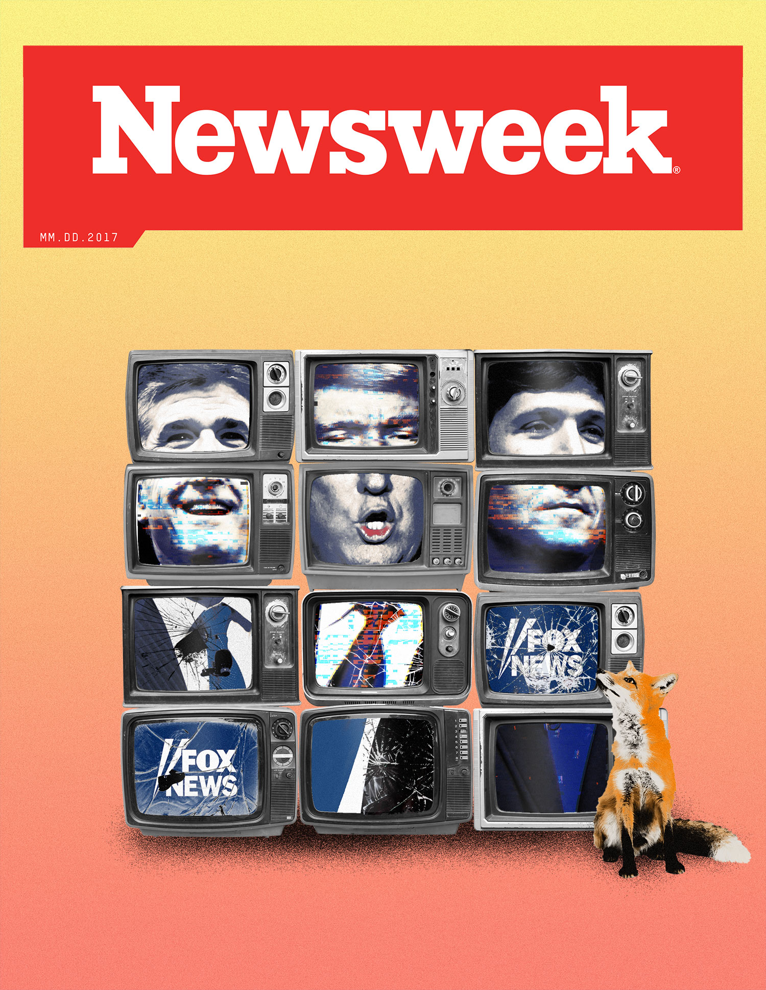 Newsweek / Fox News & Trump cover