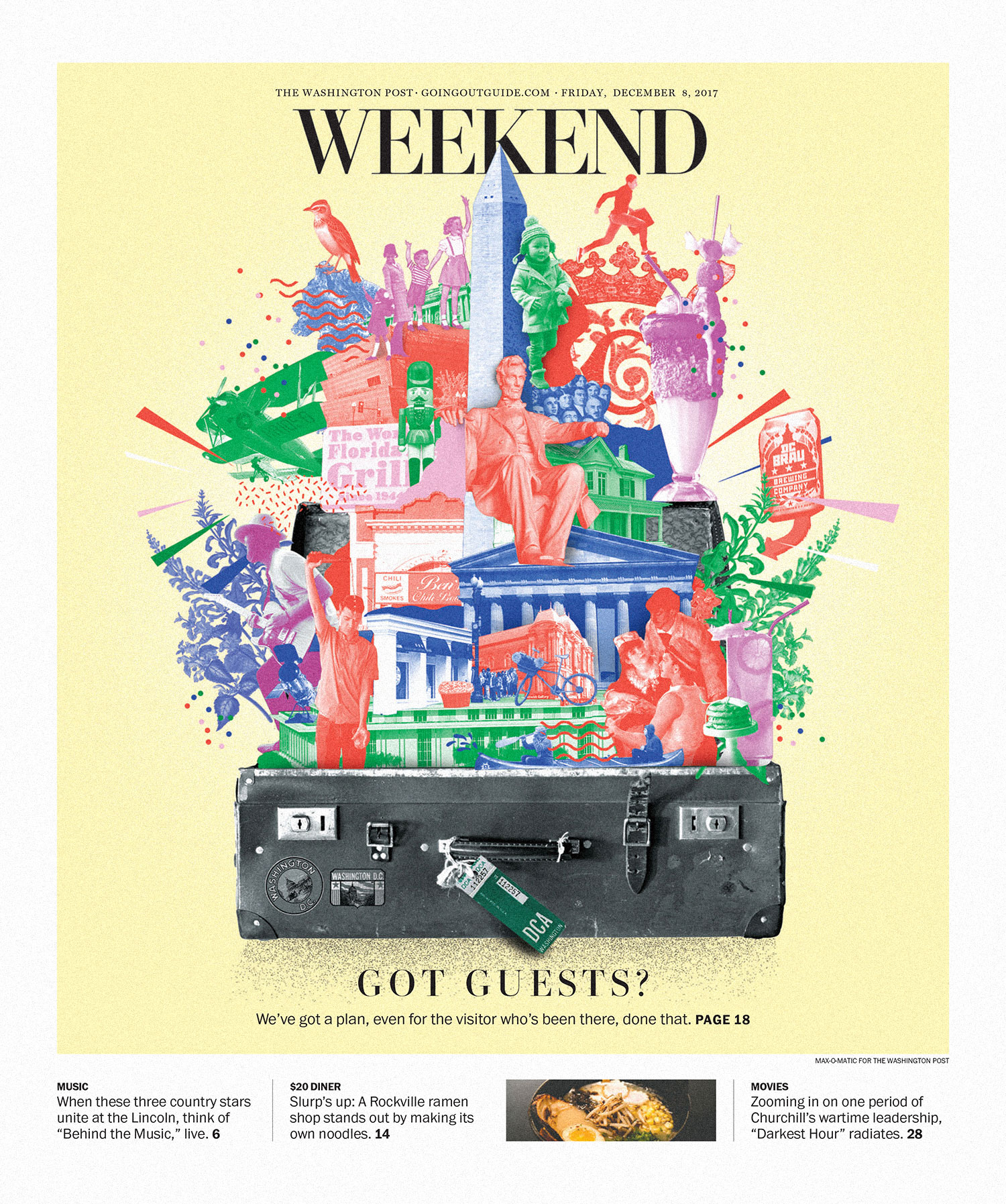 Washington Post Weekend