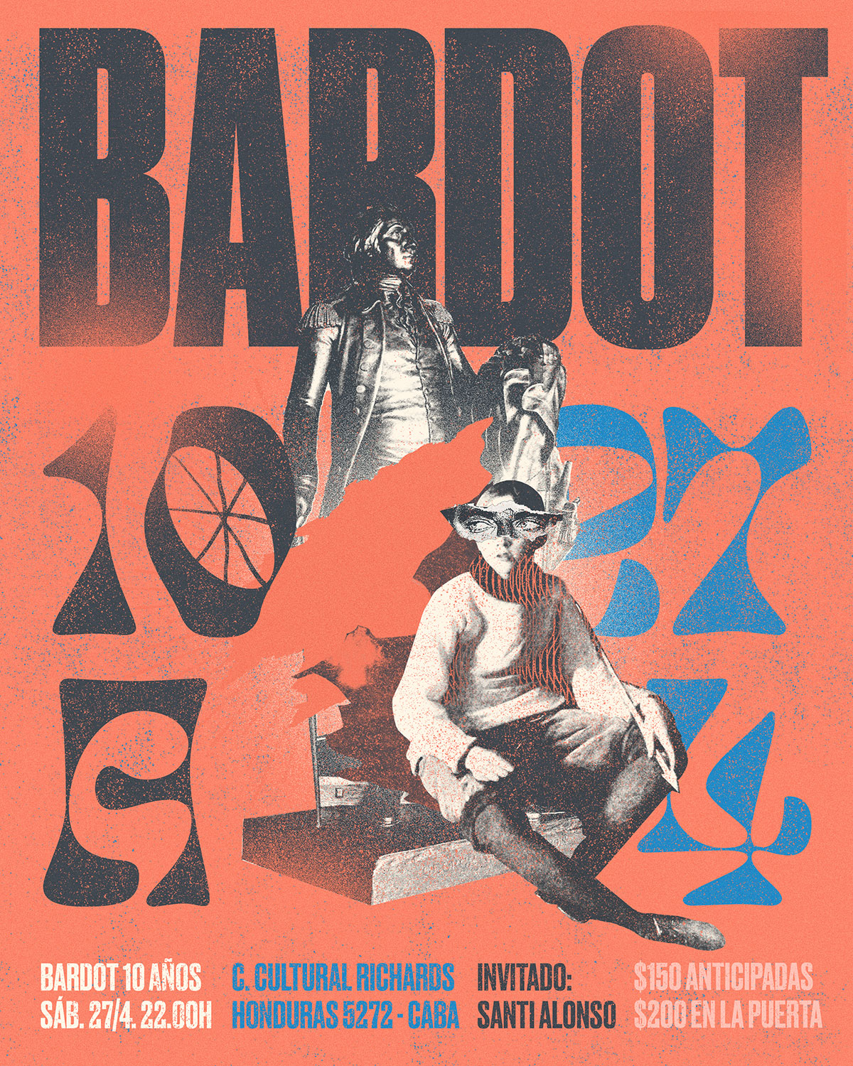 Max-o-matic: Bardot. 10 years poster