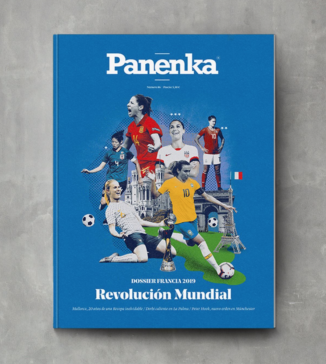 Panenka Magazine: Cover illustration