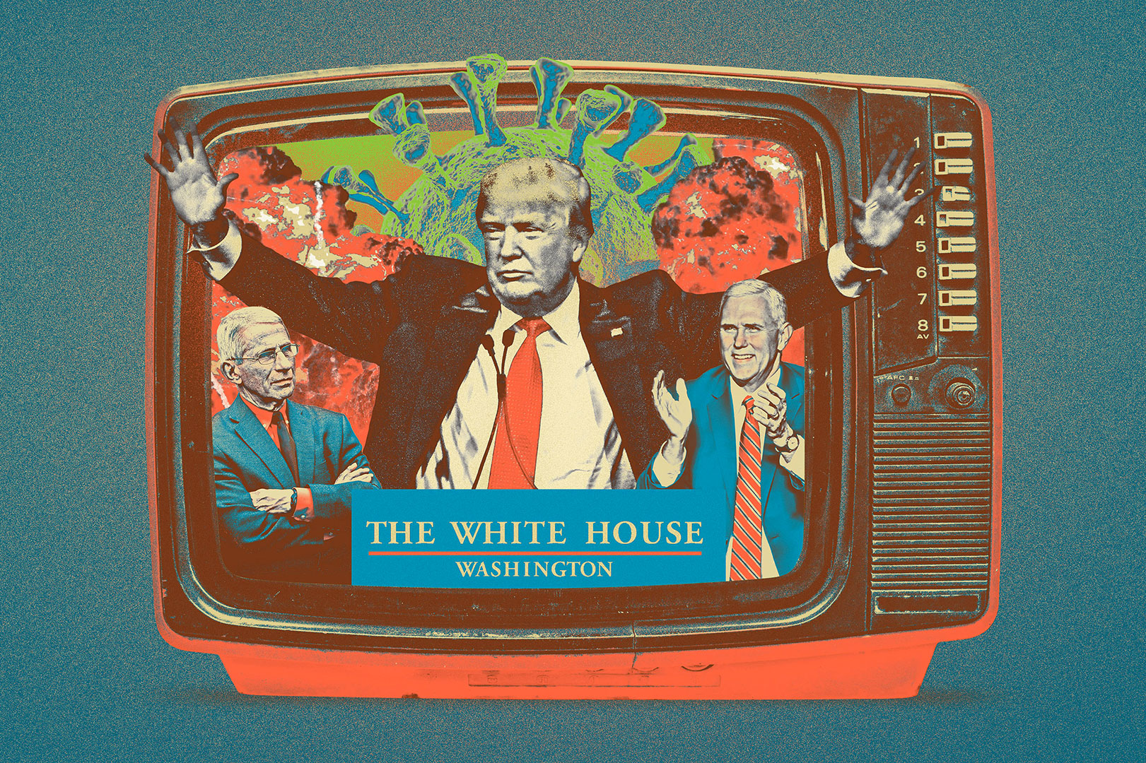Max-o-matic: Politico: Trump, Covid & TV
