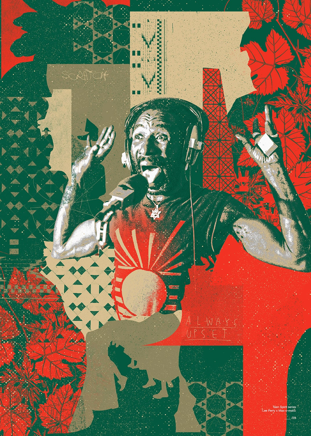 Max-o-matic: Icons: Lee Perry